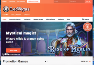 Leo Vegas Online Casino - Review of one of the top casino websites